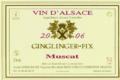 Domaine Ginglinger Fix. Muscat