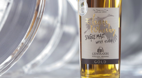 Distillerie Lehmann. Whisky Alsacien Elsass Gold