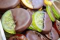 Au fil des sens. Fruit confit chocolat