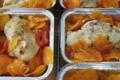 Boucherie Courtinat. Filets de poulet et légumes vapeurs