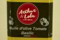Arthur et Lola. Huile d'olive aux tomates et Basilic