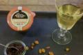 Terrine au foie gras et aux raisins