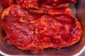 Tranches de gigot marinade piment d'espelette