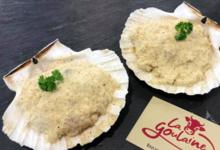 Boucherie La Goulaine. Coquille St Jacques gratinée