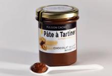 Pâte à tartiner au chocolat au lait, noisettes et huile d'olive 10.9%