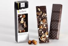 Barre de Chocolat Noir aux Noisettes Caramélisées