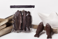 Petite Pêche - Chocolat Noir