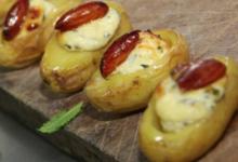 Rémy Mary Traiteur/Boucherie. Pomme de terre farcie