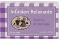 Maison de la violette. Infusion relaxante verveine / violette