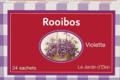 Maison de la violette. Infusion rooibos violette