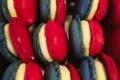 Aux Délices de Morestel. Macarons tricolores