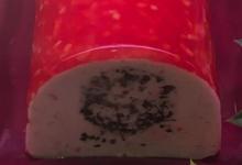 Dôme coeur de homard au champagne