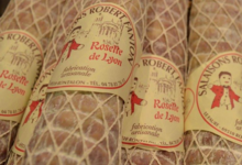 Salaisons Robert Fanton. véritable rosette de Lyon artisanale