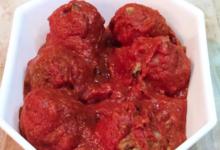 Boulette de bœuf à la sauce tomate