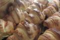 Boulangerie Contrepois. Croissants