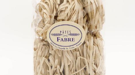 Pâtes Fabre. Tagliatelle au blé complet