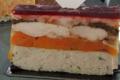 boudin blanc, carottes, ris de veau aux morilles