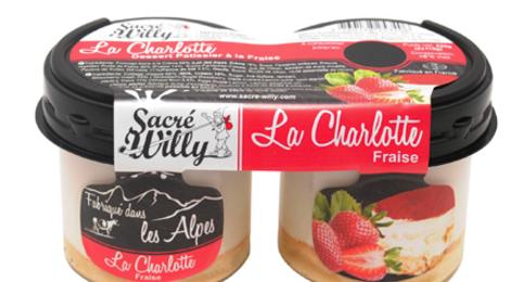 Sacré Willy. charlotte aux fraises