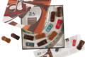 Chocolaterie Bellanger. Les bolides. Maison blanche