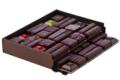 Chocolaterie Bellanger. Ballotin tout noir