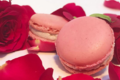Chocolaterie Bellanger. Macaron à la rose