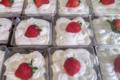 Charcuterie traiteur Aumaille. tiramisu aux fraises