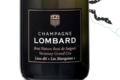 """Champagne Lombard. Brut nature rosé de saignée grand cru. Lieu dit """"Les Marquises"""""""