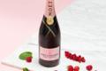 Champagnes Moët & Chandon. Rosé impérial