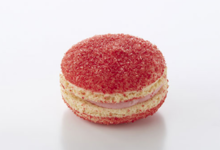 Patisserie Chocolaterie Dallet. Macaron champagne rosé