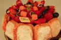 Patisserie Chocolaterie Dallet. Charlotte aux fruits rouges