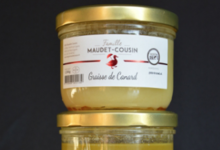 Famille Maudet-Cousin. Graisse de canard