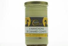 Foie gras Maison Coraboeuf. Confit de canard 4 manchons