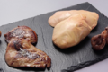 Foie gras Maison Coraboeuf. Escalopes de foie gras cru