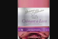 Domaine du moulin. Crémant de Loire rosé