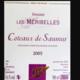 Domaine des Méribelles. Coteaux de Saumur