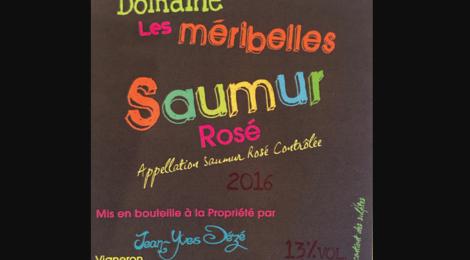 Domaine des Méribelles. Saumur rosé