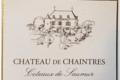 Château de Chaintres. Côteaux de Saumur