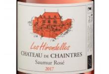 Château de Chaintres. Les hirondelles