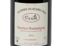 Domaine du bourg neuf. Saumur champigny
