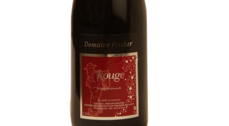 Domaine Percher. Rouge Méthode Traditionnelle