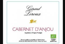 Domaine Gérard Leroux. Cabernet d'Anjou