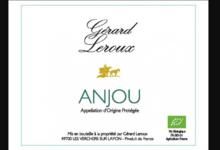 Domaine Gérard Leroux. Anjou blanc