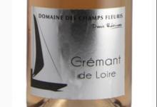 Domaine Des Champs Fleuris. Crémant de Loire rosé