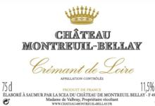 Chateau De Montreuil-Bellay. Crémant de Loire rosé