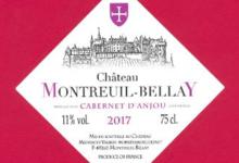 Chateau De Montreuil-Bellay. Cabernet d'Anjou rosé