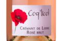 Robert et Marcel. Crémant de Loire Coq'licot Brut Rosé