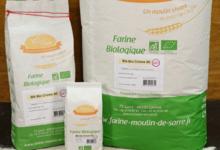 Moulin de Sarré. Farine de Blé BIO crème 80