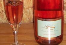 domaine des Hauts Sentiers. Crémant de Loire rosé