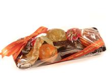 Benoit Chocolats. Barquette de fruits confits