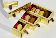 Benoit Chocolats. Boîte de 12 macarons